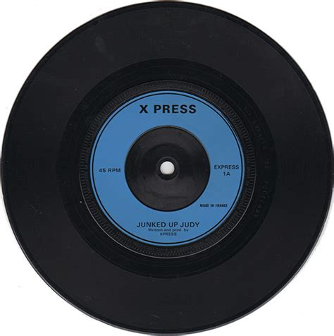 Killed By Records Xpress Junked Up Judy 7 Killed By Records