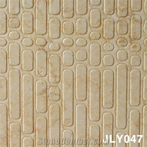 finish stone materials 3d marble wall finishing material beige marble home decor from china stonecontact