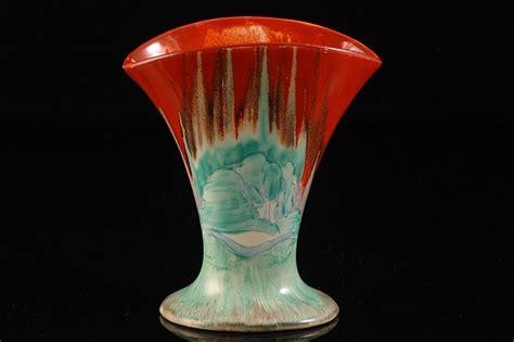 Clarice Cliff Vase by Clarice Cliff Forest Glen 212 Vase C 1935