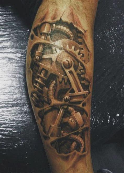 biomechanical tattoo history anckle complicated mechanism biomechanic tattoo best