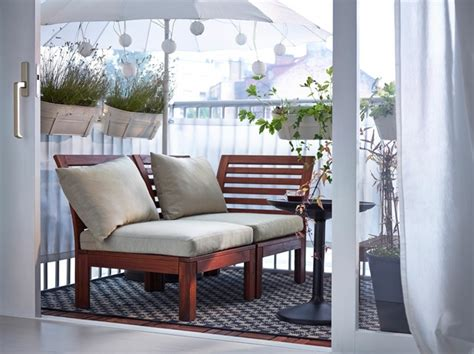 loungemöbel für kleinen balkon loungem 246 bel balkon holz mxpweb