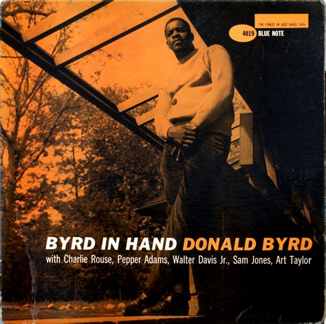 donald byrd byrd in hand 1959 londonjazzcollector