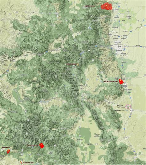 map of current wildfires in colorado millennium ark news