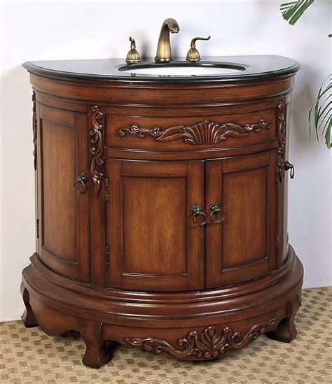 36 inch high bathroom vanity 36 inch demilune bathroom vanity in bathroom vanities