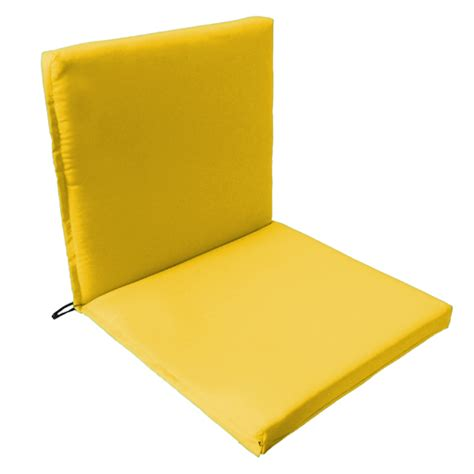 Two Part Outdoor Waterproof Seat Chair Pads Cushions
