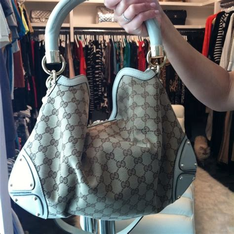 Gucci Rust Indy Large Top Handle Bag by Gucci Gucci Indy Large Top Handle Bag Beige From M S