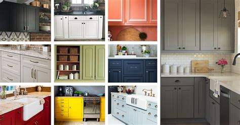 Kitchen Cabinet Finishes Ideas 23 Best Kitchen Cabinets Painting Color Ideas And Designs For 2018