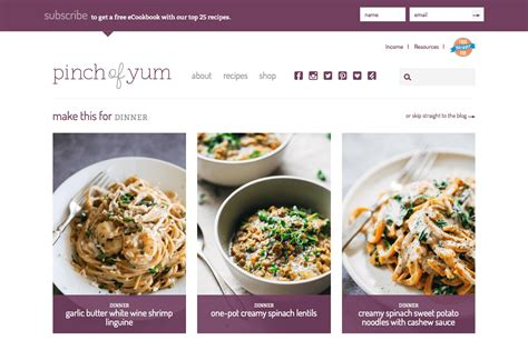 lifestyle blog design 6 food and lifestyle blog trends to take your site to the