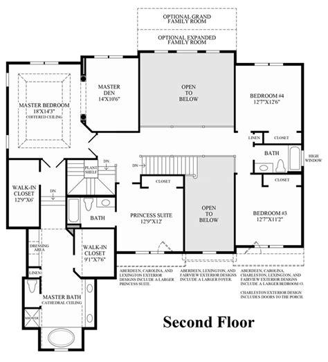 charleston by all american homes two story floorplan charleston single house floor plans