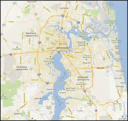 map of jacksonville florida plumbers jacksonville fl 904 309 9671 ne florida coverage