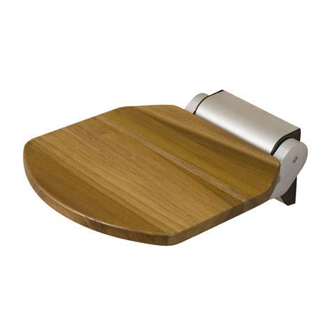 lowes shower bench shop barclay golder teak teak wall mount shower seat at