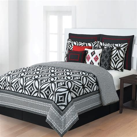 home classics interlude 10 pc comforter set home classics addison 10 pc bed set black