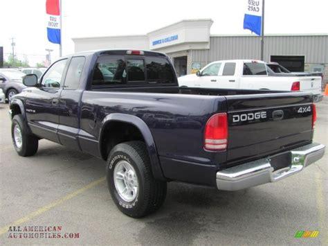 1999 Dodge Dakota SLT Extended Cab 4x4 in Deep Amethyst