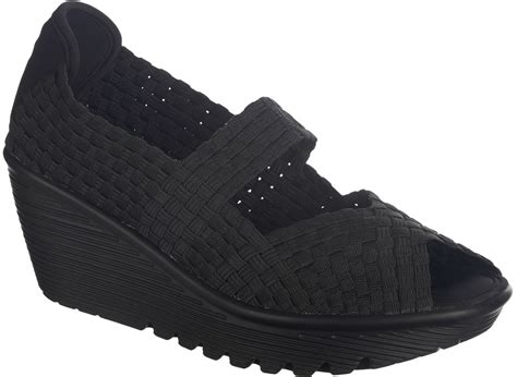 skechers womens parallel wedge sandals ebay