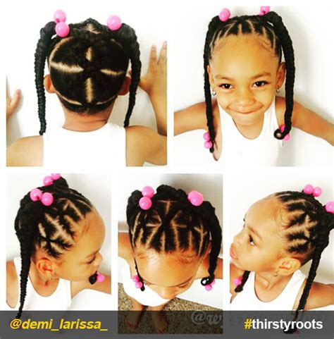 hairstyles for little black girls ponytails 20 cute natural hairstyles for little girls