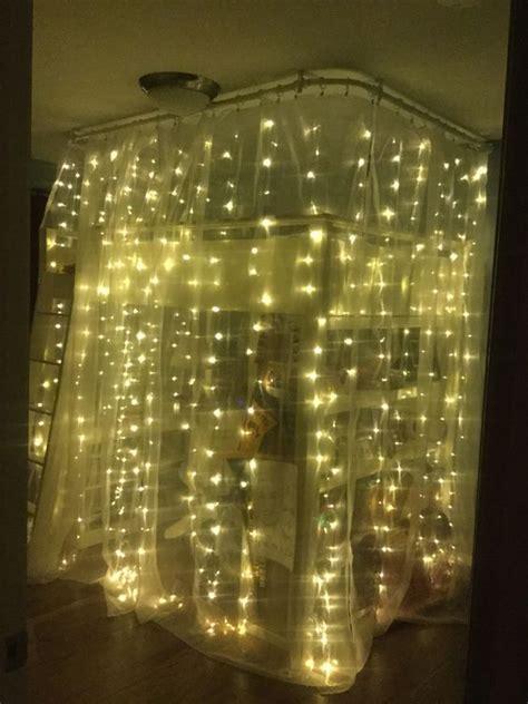 lights loft bed best 25 loft bed curtains ideas on loft bed