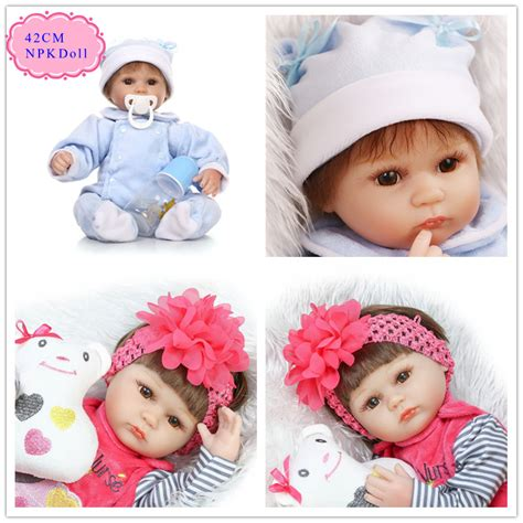 design reborn baby doll npk 42cm 17inch silicone baby dolls for sale with new