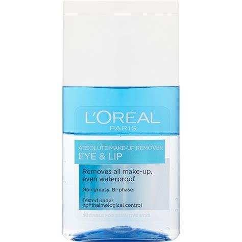 Make Up L Oreal l oreal absolute eye and lip make up remover 125ml