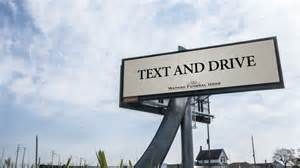 Drive To Home by Text And Drive Funeral Home Billboard Draws Attention