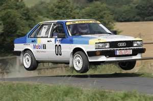 Audi 80 Rally Audi 80 B2 Quattro A 1983 Racing Cars