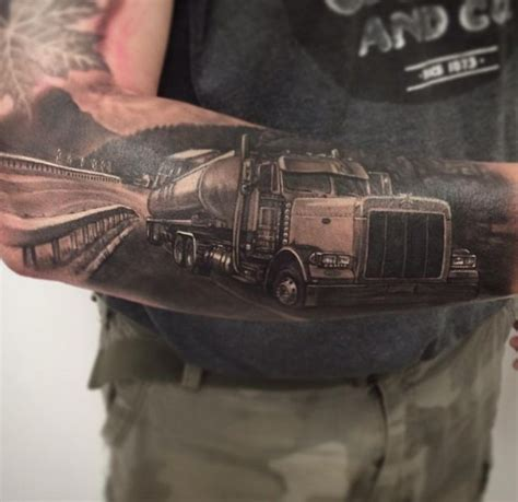 trucker tattoo designs 24 best images about for ben on logos semi