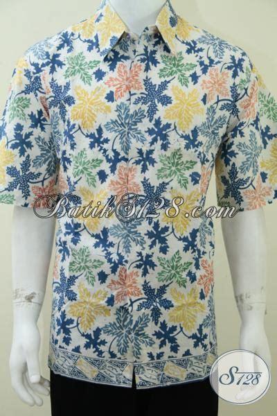 Kamen Batik Motif Daun Pepaya jual kemeja batik pria motif terbaru hem batik dasar