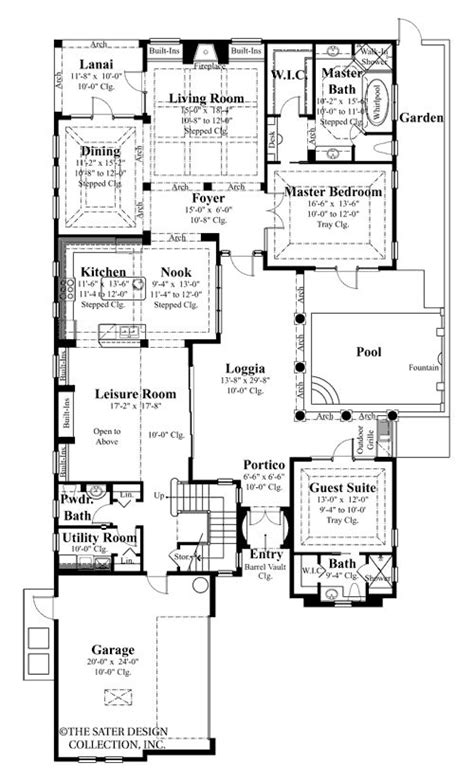 spanish courtyard house plans plan w16326md luxury 1000 images about spanish homes on pinterest luxury