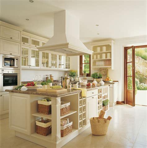 cocinas hechas de obra cocinas blancas