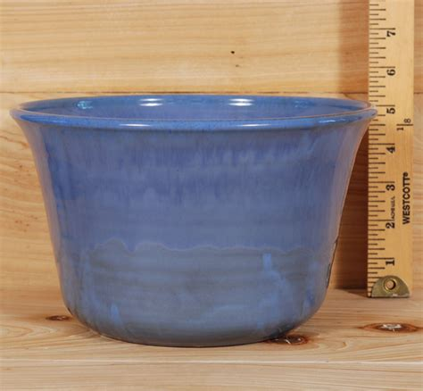 Large Cobalt Blue Planters by Flower Pots And Frogs