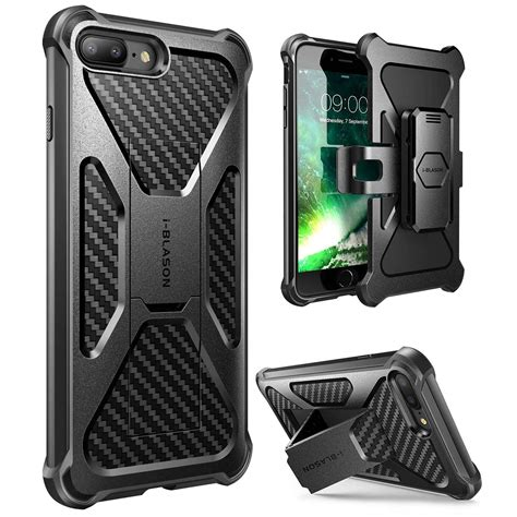 Iphone 7 7s Plus Holster Shark Stripe Dual Layer Armor Bumper top 10 best cheap iphone 7 plus cases heavy