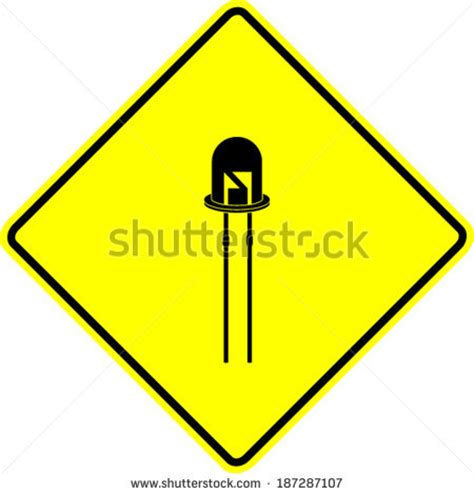 diode sign electroluminescent stock photos images pictures