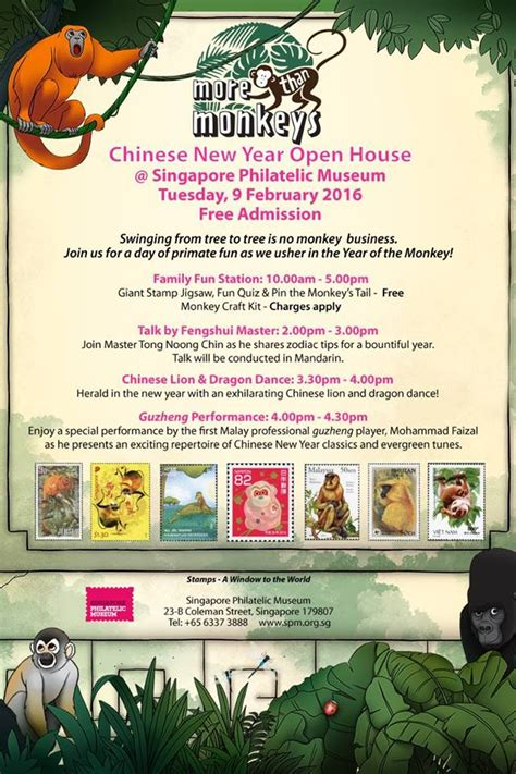 singapore museum new year open house singapore philatelic museum new year open house