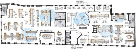 open concept office floor plans design features and effective work workplace research resources knoll planning