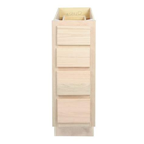 12 base cabinets kitchen drawer base cabinet unfinished oak 12