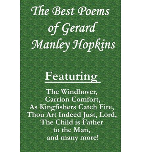 carrion comfort poem the best poems of gerard manley hopkins featuring the
