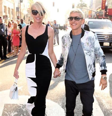 and portia split degeneres divorce rumors portia de and