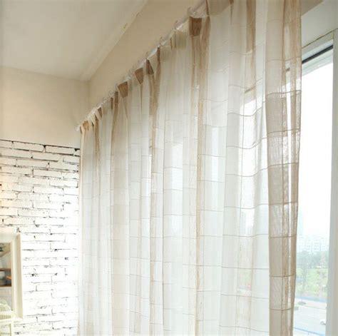 cortinas xadrez para quarto 25 melhores ideias de cortinas de linho no pinterest