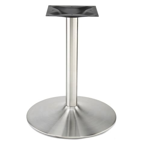 rwg wine glass shaped stainless steel table base