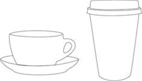 coffee cup card template patterns templates on templates card