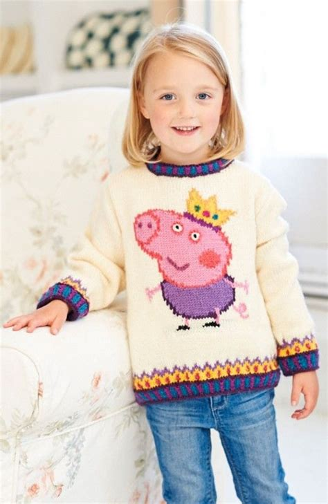 pattern for peppa pig jumper woman s weekly in shops on the 25th june features this fab