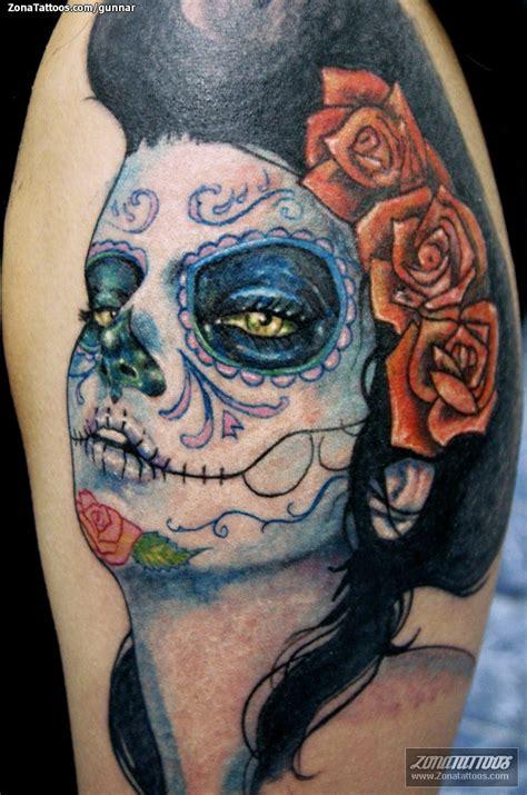 tatuajes de catrinas imagui