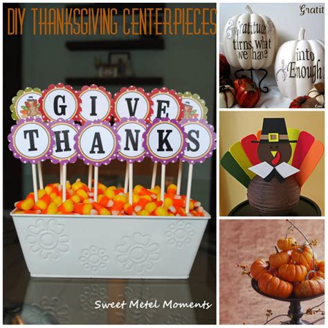 diy centerpieces for thanksgiving myideasbedroom com