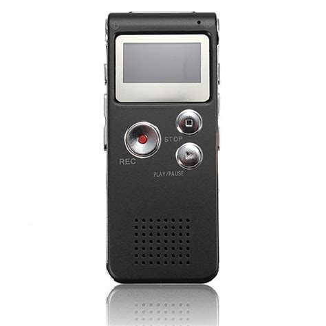 Perekam Suara Voice Recorder 8gb Mp3 Player Baterai Cas perekam suara digital voice recorder 8gb r29 black jakartanotebook