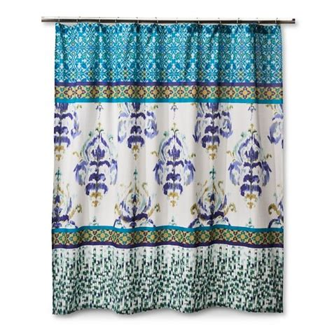 target shower curtains for kids boho boutique himalaya shower curtain target