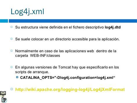 log4j xml log4j 1 2 15 short manual
