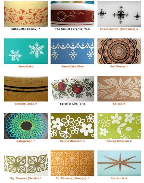vintage pyrex pattern list pyrex patterns 9 pyrex pinterest vintage pyrex and