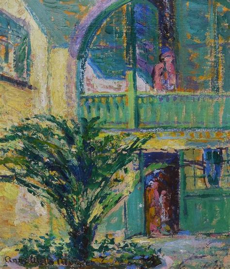 anne wells munger new orleans courtyard by anne wells munger painting at 1stdibs