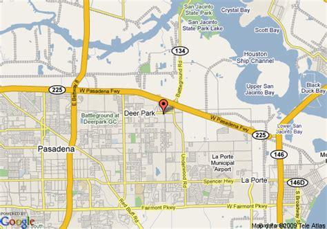 map of deer park texas map of la quinta inn suites deer park deer park