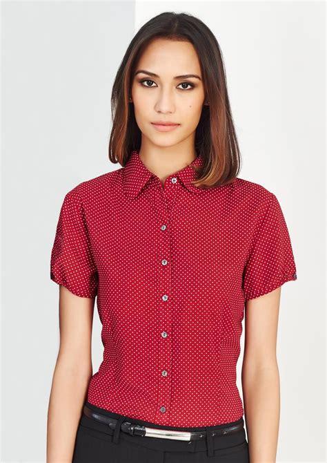 Ema Blouse 3 Ruby ruby shirt s232ls