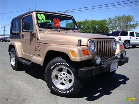 jeep sand color 2000 desert sand pearl jeep wrangler sahara 4x4 69404335